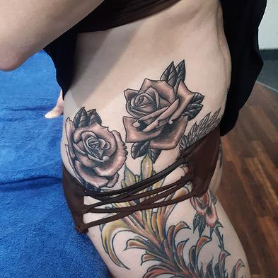 flower tattoo by John