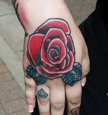 Rose tattoo by John