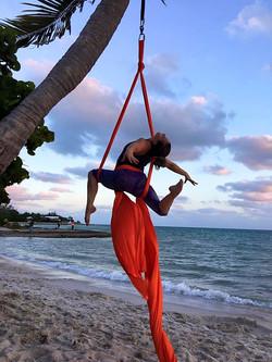 Island Paradise Aerial Silks