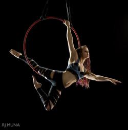 Lyra / Aerial Hoop Portrait by RJ Muna