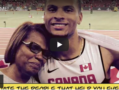 """Andre De Grasse """"Race With Me"""" & Toyko"""