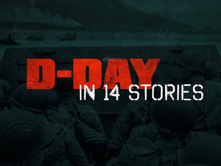 "Yap Films' ""D-Day in 14 Stories"" Airs on History for Remembrance Day"