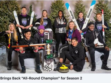 """All-Round Champion"" back for season 2 on BYUtv and TVO"