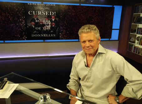 "Author Keith Ross Leckie releases new novel ""Cursed! Blood of the Donnellys"""