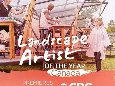 """Marblemedia's """"Landscape Artist of the Year"""" premieres on CBC"""