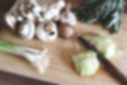 soupe préparation