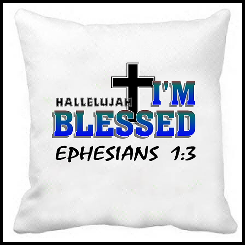 Hallelujah I'm Blessed Prayer Pillow