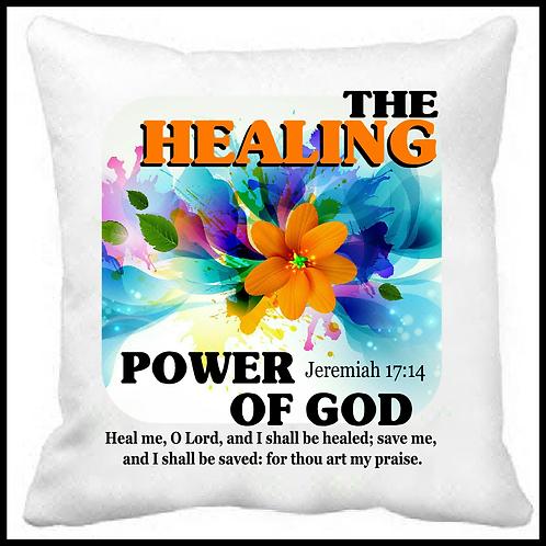 The Healing Power of God Prayer Pillow
