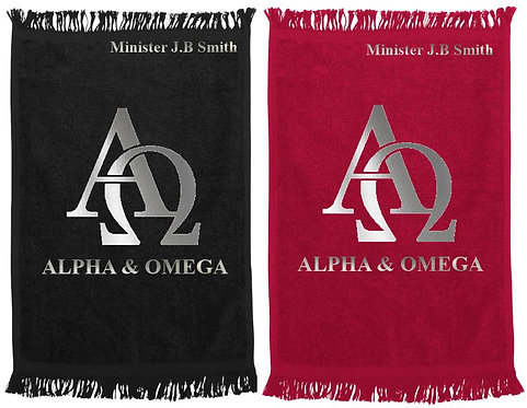 Alpha and Omega Ministry/Prayer Towel