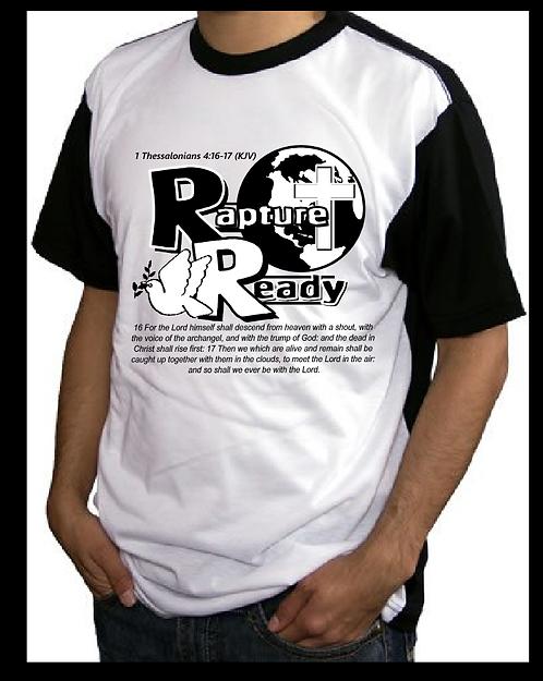 Rapture Ready Blackout T-shirt