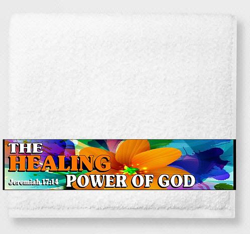 The Healing Power of God Prayer & Healing Towel