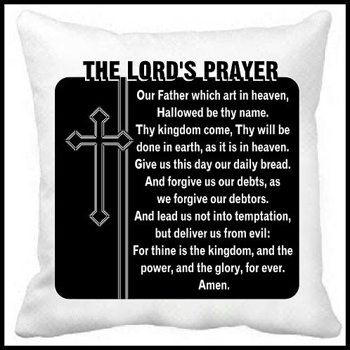 The Lord's Prayer- Prayer Pillow