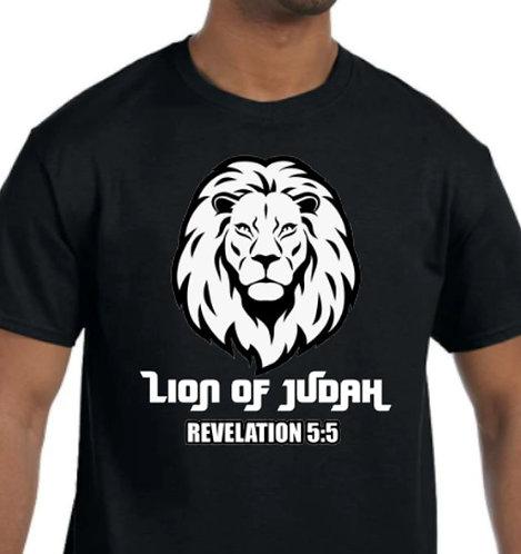 """Lion of Judah 3D """"Puff"""" Cotton T-shirt (Short Sleeve or Long Sleeve)"""
