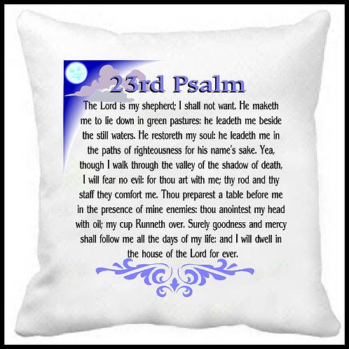 23rd Psalm Prayer Pillow