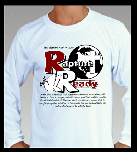 Rapture Ready Solid T-shirt (Short & Long Sleeve)