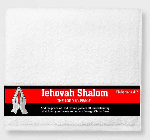Shalom Prayer & Healing Towel