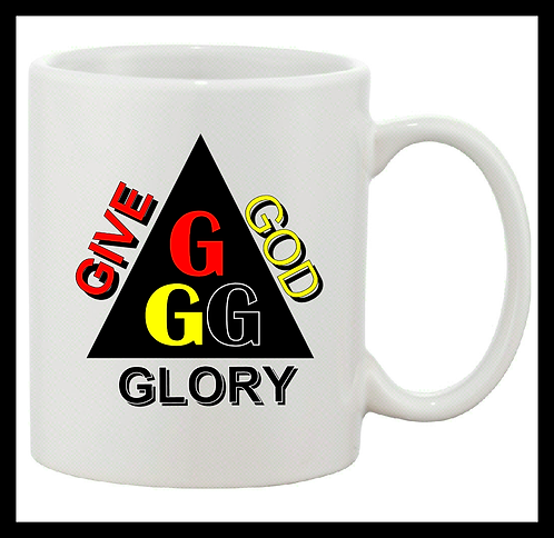 Give God Glory (GGG) Coffee Mug
