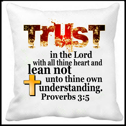 Trust in the Lord Prayer Pillow