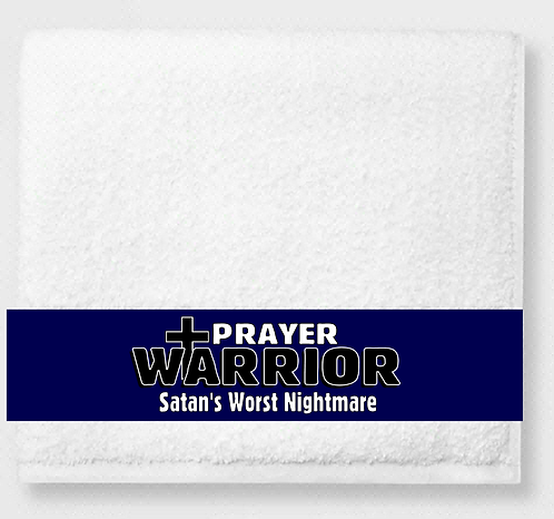 Prayer Warrior Prayer & Healing Towel