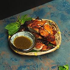 Grilled BBQ Chicken Thigh