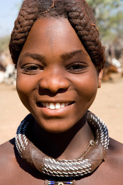 Niña Himba guapa