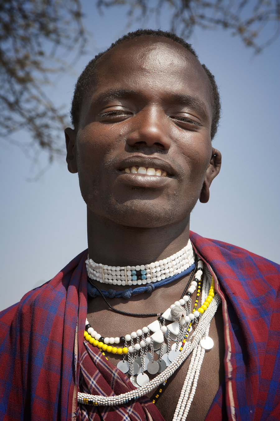 Hombre Massai