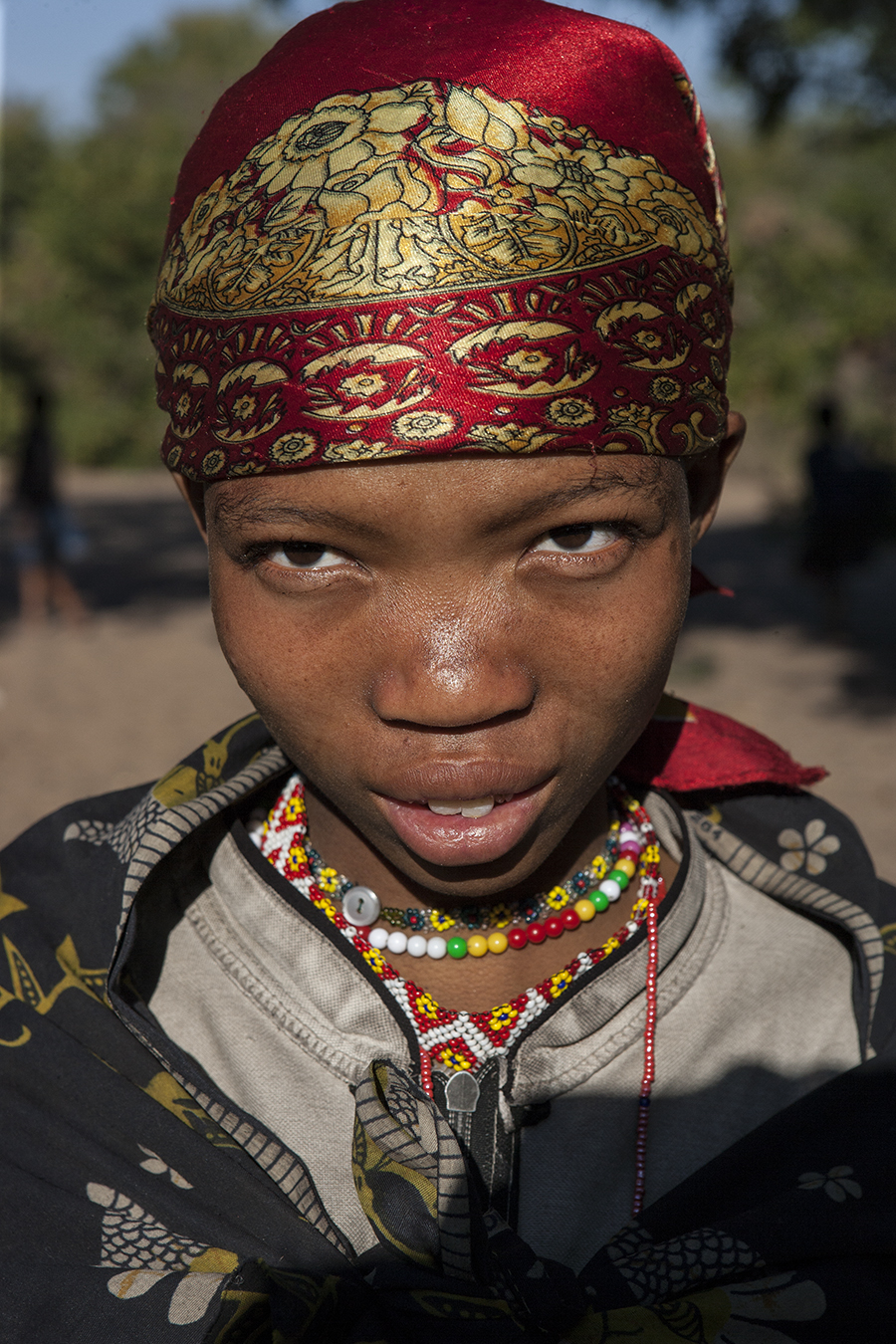 Mujer Bushman