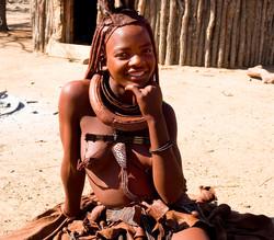 Himba Sonrriendo