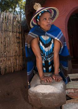 Mujer Zulu