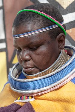 Mujer Ndebele