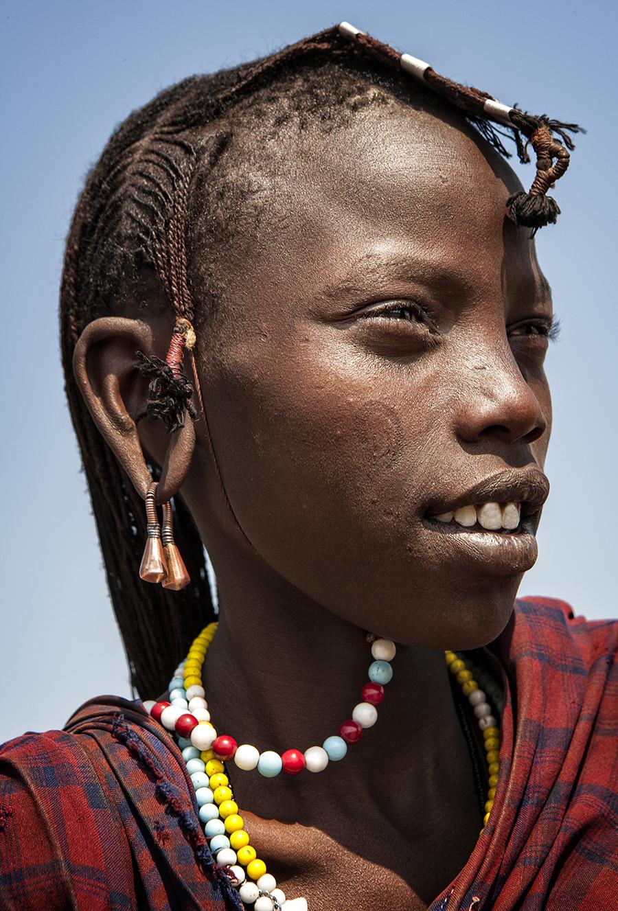 Joven Massai