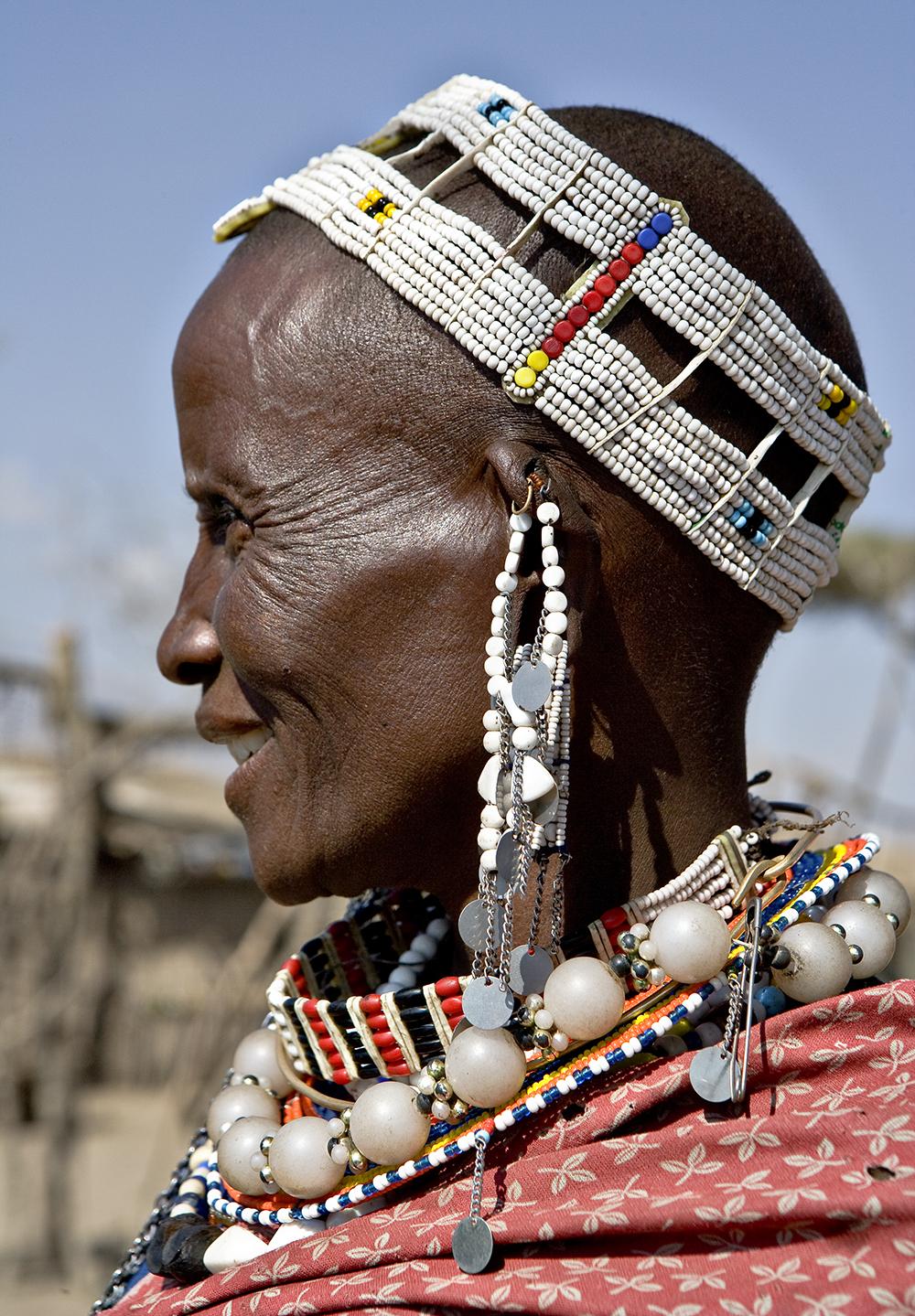 Anciana Masai