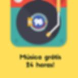 Música grátis 24 horas!.png