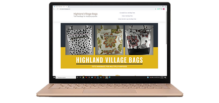 high village bags website