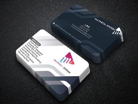 Multim Media business card