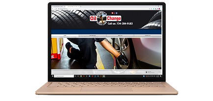 oil change website