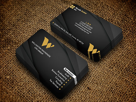 CPA Group business card