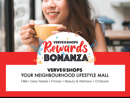 VERVE®Shops Rewards Bonanza is BACK!