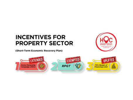 Incentives for Property Sector