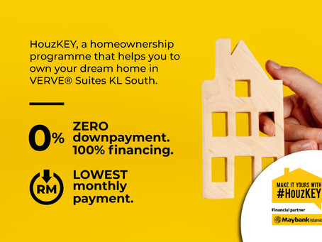 Maybank HouzKEY is now available for VERVE® Suites KL South