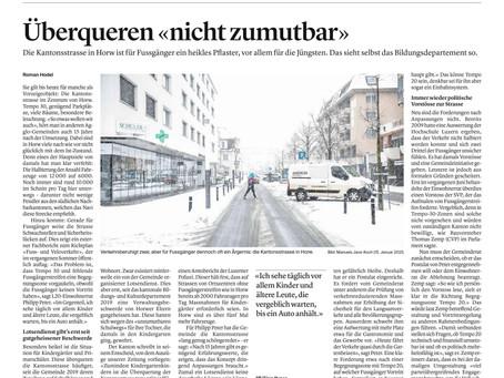 Beruhigung der Kantonsstrasse