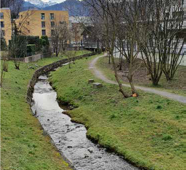Petition Renaturierung Dorfbach, Sanierung Promenadenweg