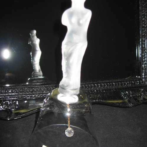 Crystal bell, with Venus