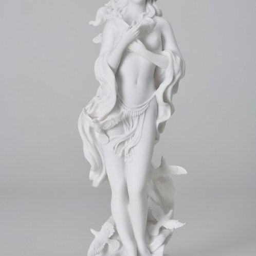 Aphrodite with Doves Statue