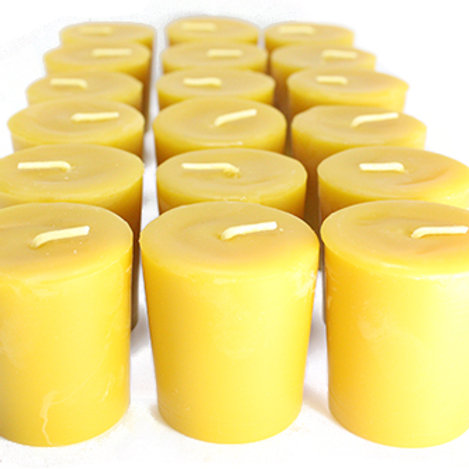 Pure Bees Wax Votive Candle (1 per order)