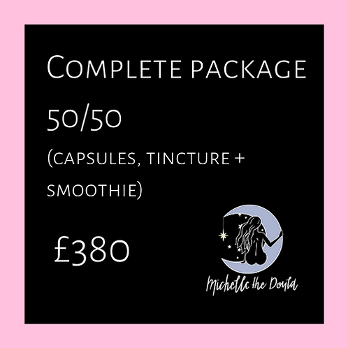 Complete package (50/50)