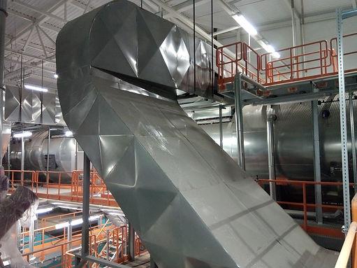 Теплоизоляционное покрытие оборудования МИНИ ТЭЦ.