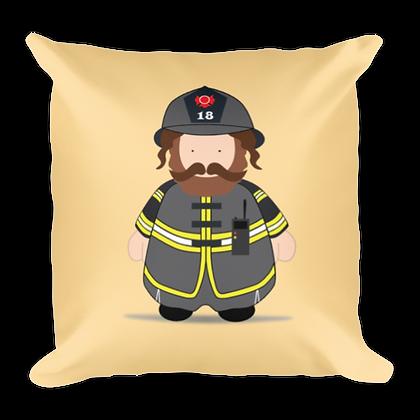 Fireman Rebbe Pillow