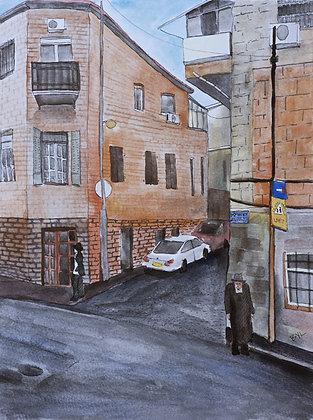 David Yellin Street