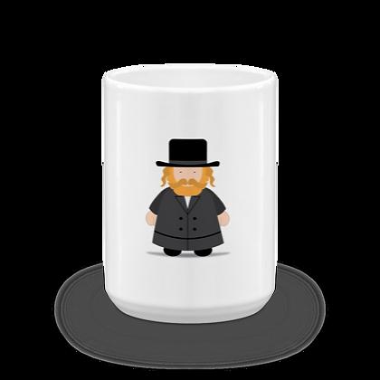 Chasid Rebbe Mug